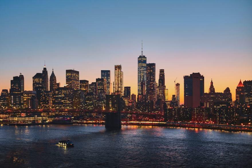 Город Нью Йорк фото