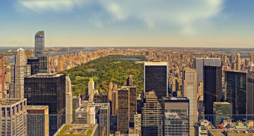 Скачать онлайн бесплатно лучшее фото города Нью Йорк США в хорошем качестве