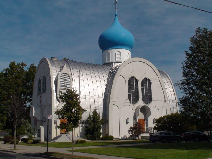 Церковь Святого Николая в Уайтстоун город Нью Йорк