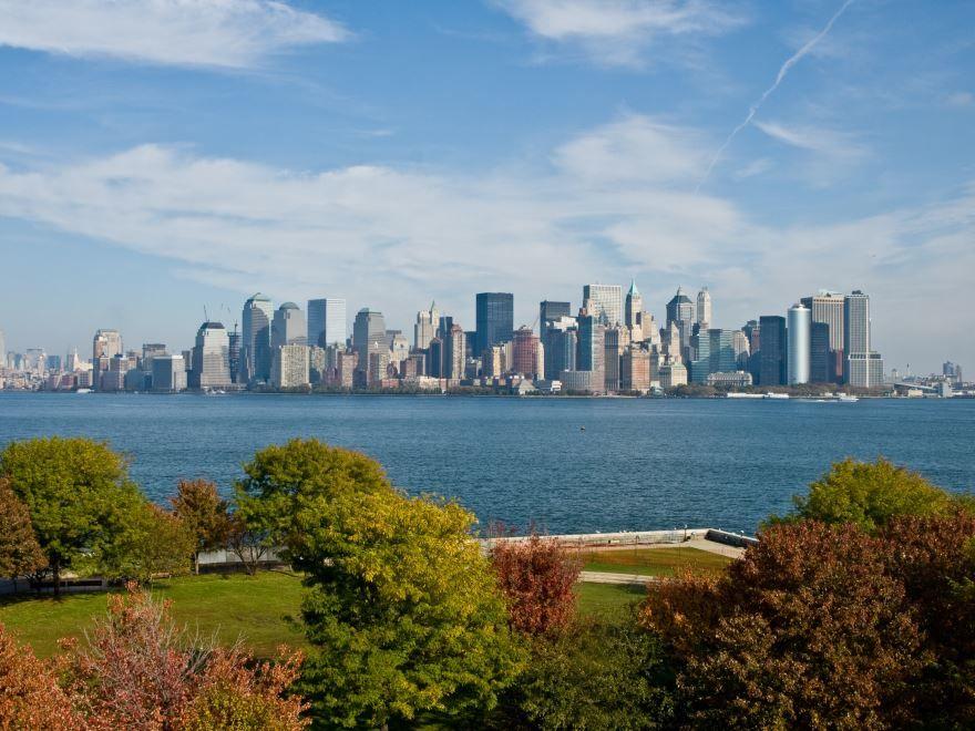 Смотреть красивое фото города Нью Йорк бесплатно