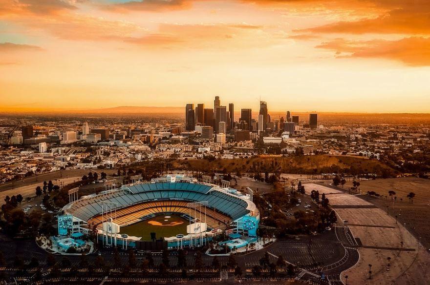 Город Лос Анджелес штат Калифорния США
