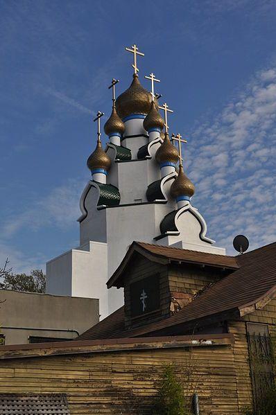 Свято-Преображенская Русская Православная церковь город Лос Анджелес штат Калифорния США