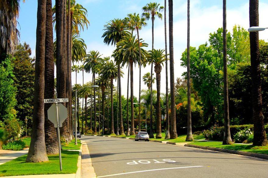 Город Лос Анджелес сейчас