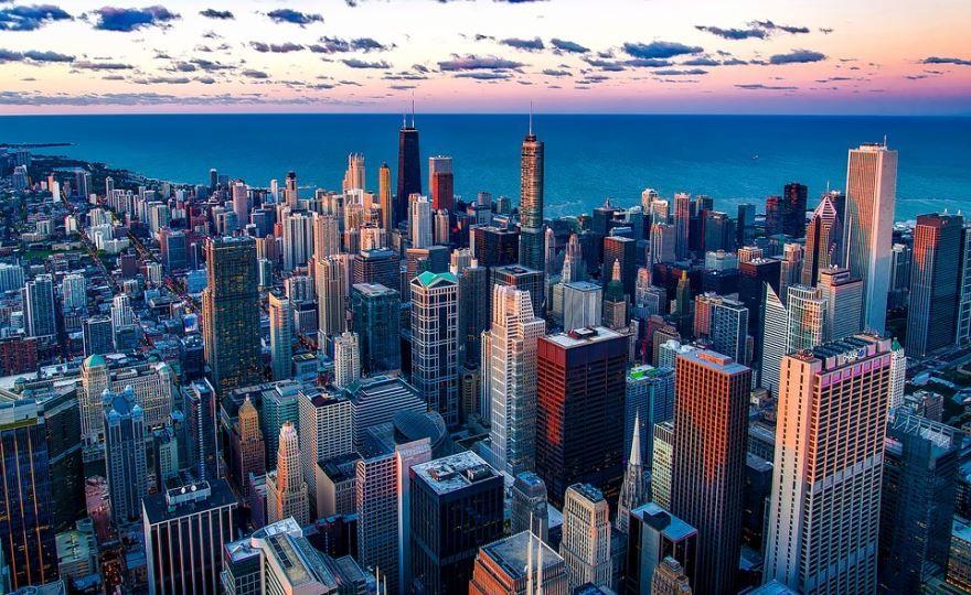 Смотреть красивое фото город Чикаго онлайн