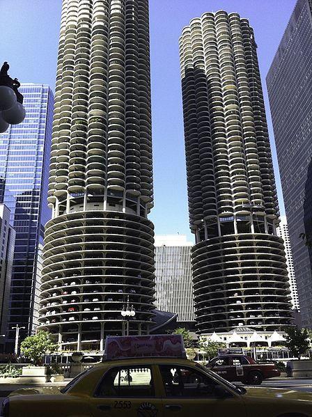 Высотные здания в городе Чикаго США