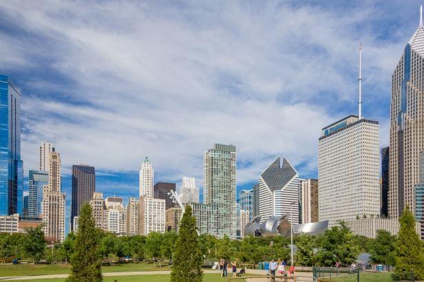 Центр Чикаго фото в хорошем качестве