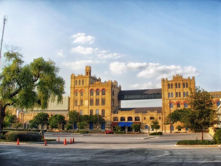 Город Сан Антонио штат Техас США красивое фото