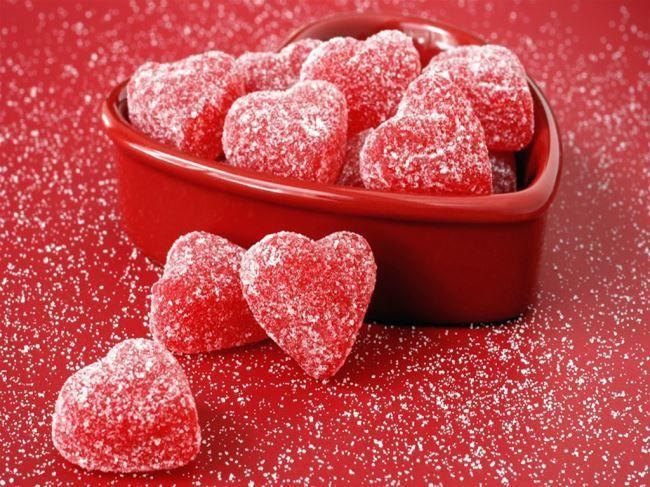 C Днем Святого Валентина!  Мармелад