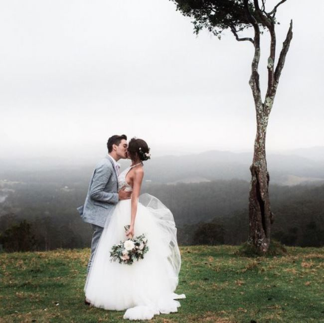 Свадебный снимок.Романтика