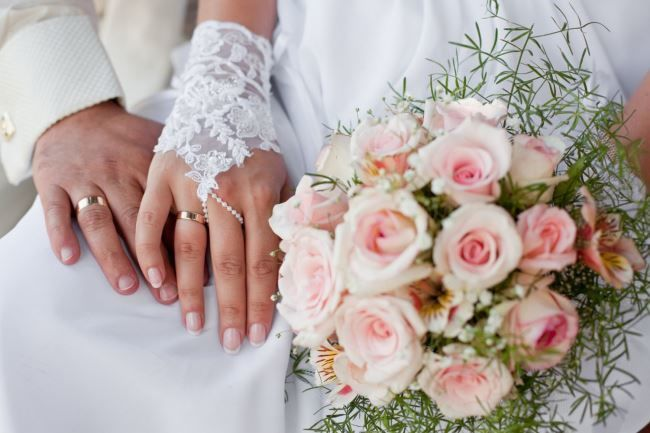 Свадебный снимок. Романтика