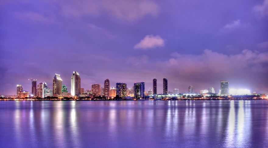 Скачать онлайн бесплатно лучшее фото город Сан Диего в хорошем качестве