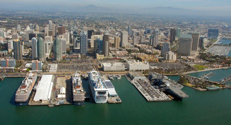 Порт город Сан Диего