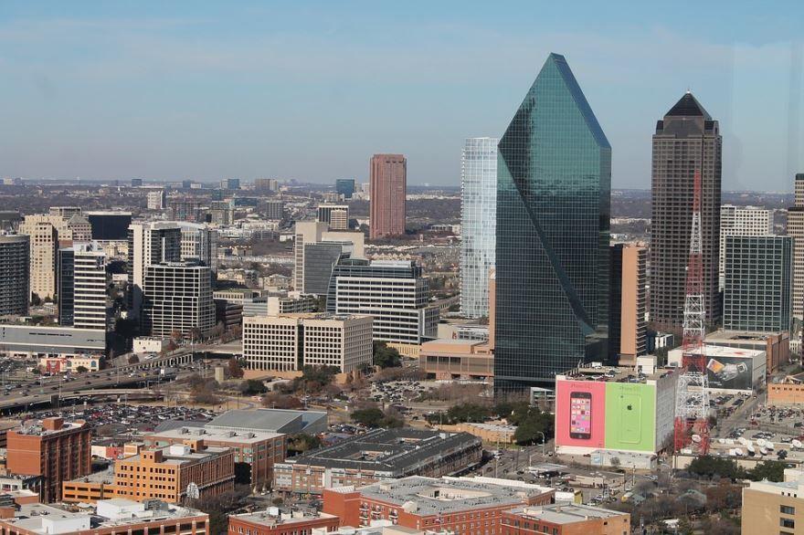 Смотреть красивое фото города Даллас штат Техас
