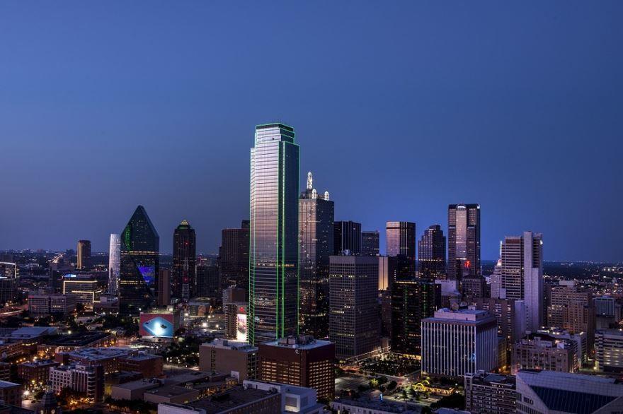 Смотреть красивое фото города Даллас бесплатно