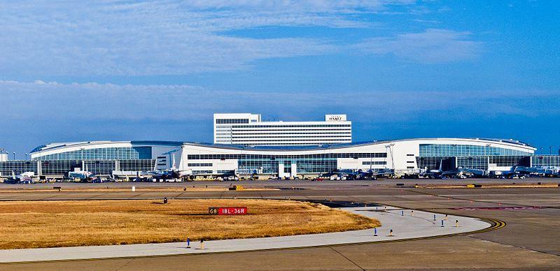 Аэропорт город Даллас 2019