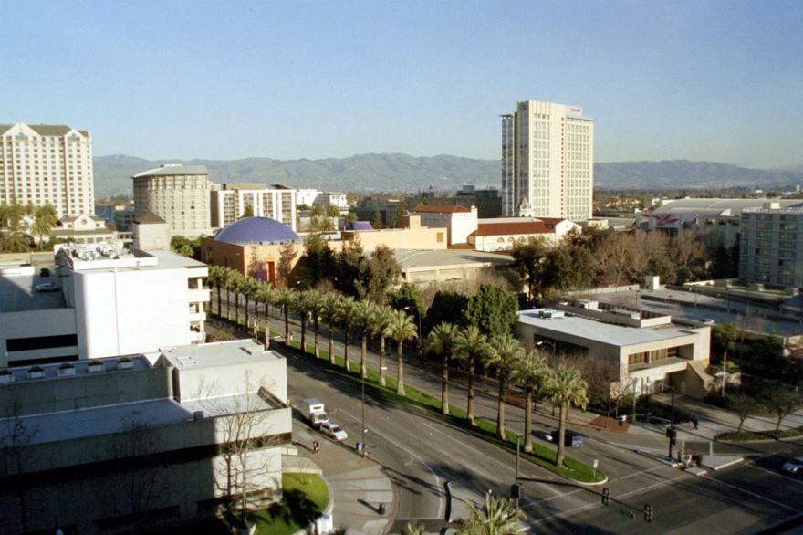 Смотреть красивое фото города Сан Хосе штат Калифорния США бесплатно