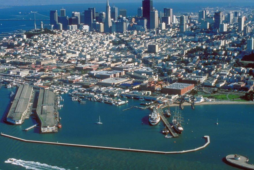 Скачать онлайн бесплатно лучшее фото город Сан Франциско в хорошем качестве