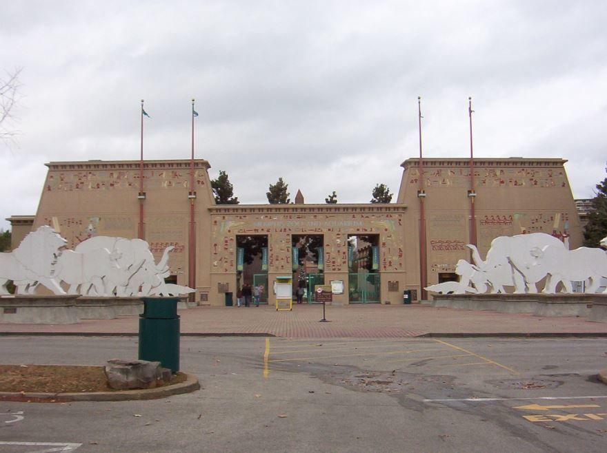 Зоопарк города Мемфис штат Теннесси США