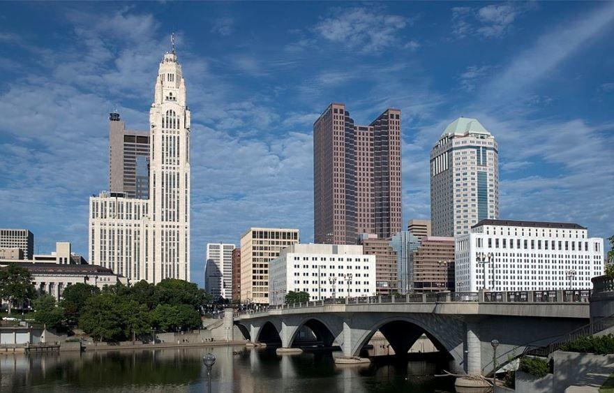 Скачать онлайн бесплатно лучшее фото города Колумбус штат Огайо
