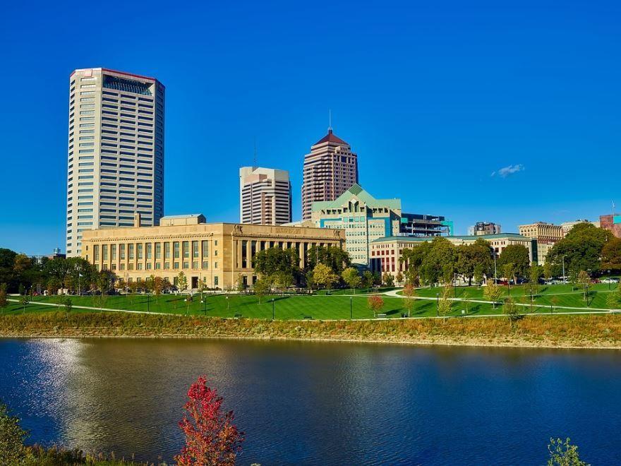 Смотреть красивое фото города Колумбус штат Огайо США