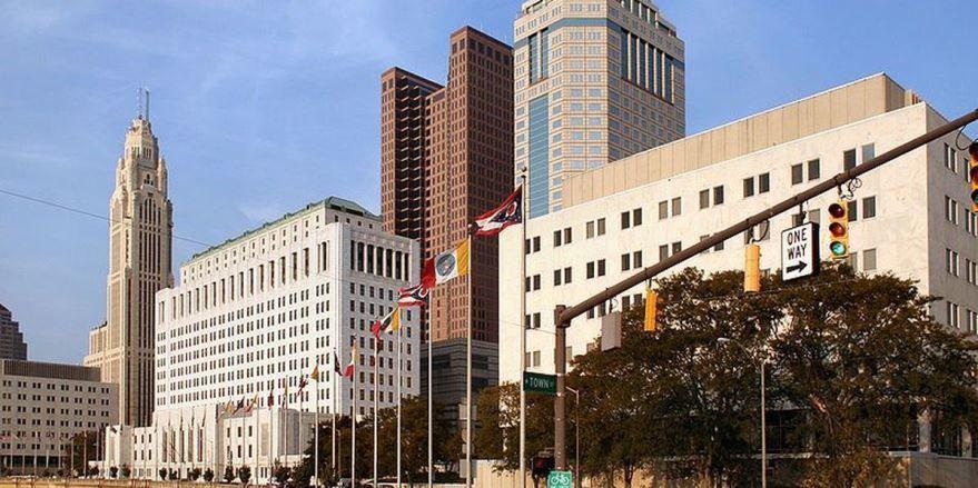 Скачать онлайн бесплатно лучшее фото города Колумбус штат Огайо в хорошем качестве