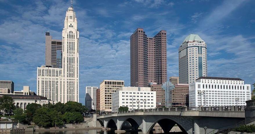 Смотреть красивое фото города Колумбус 2019 штат Огайо