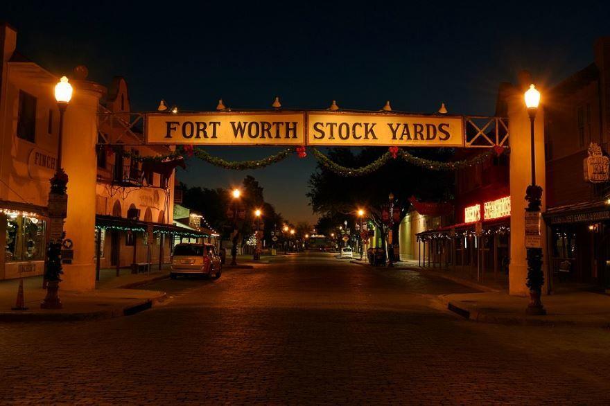 Смотреть красивое фото города Форт Уэрт штат Техас США