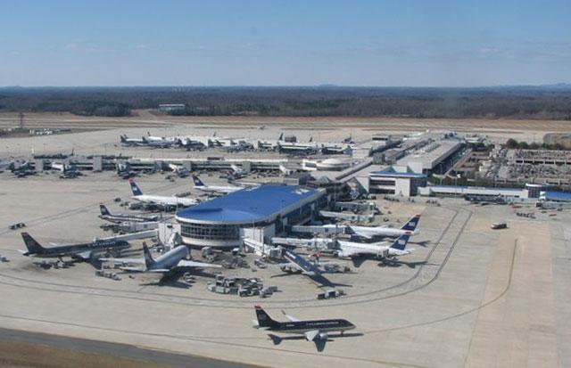 Аэропорт города Шарлотт 2019 Северная Каролина