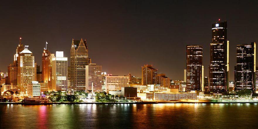 Скачать онлайн бесплатно лучшее фото города Детройт в хорошем качестве