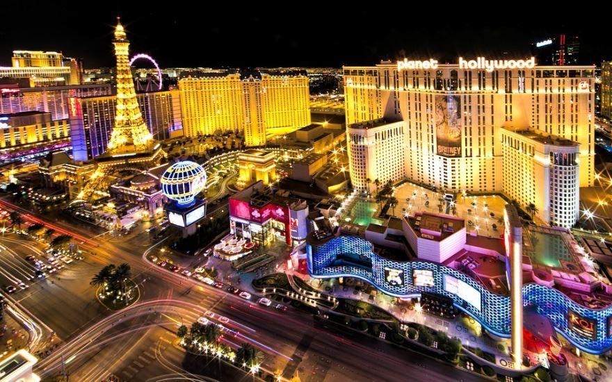 Смотреть красивое фото города Лас Вегас штат Невада США в хорошем качестве