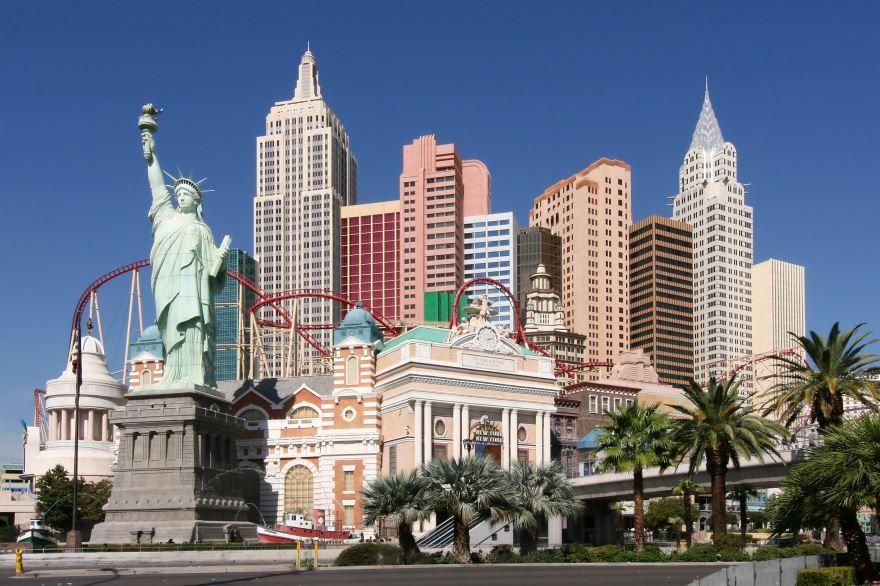 Смотреть красивое фото города Лас Вегас штат Невада США