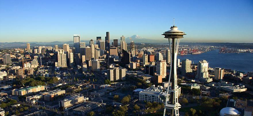 Скачать онлайн бесплатно лучшее фото города Сиэтл в хорошем качестве