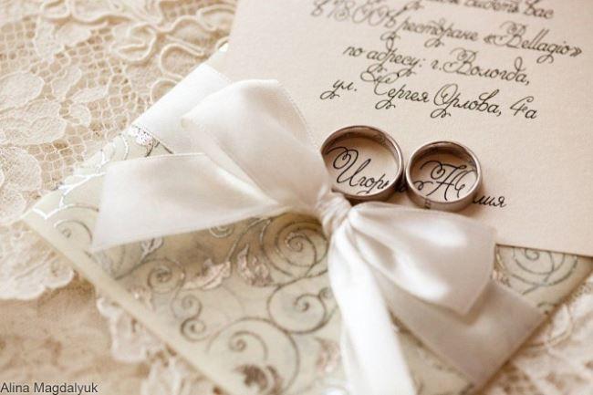 Красивые открытки с днем свадьбы, кольца