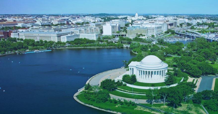 Смотреть красивое фото города Вашингтон округ Колумбия США