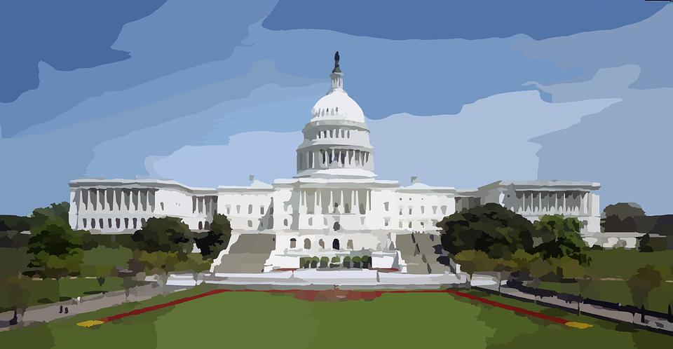 Капитолий США город Вашингтон