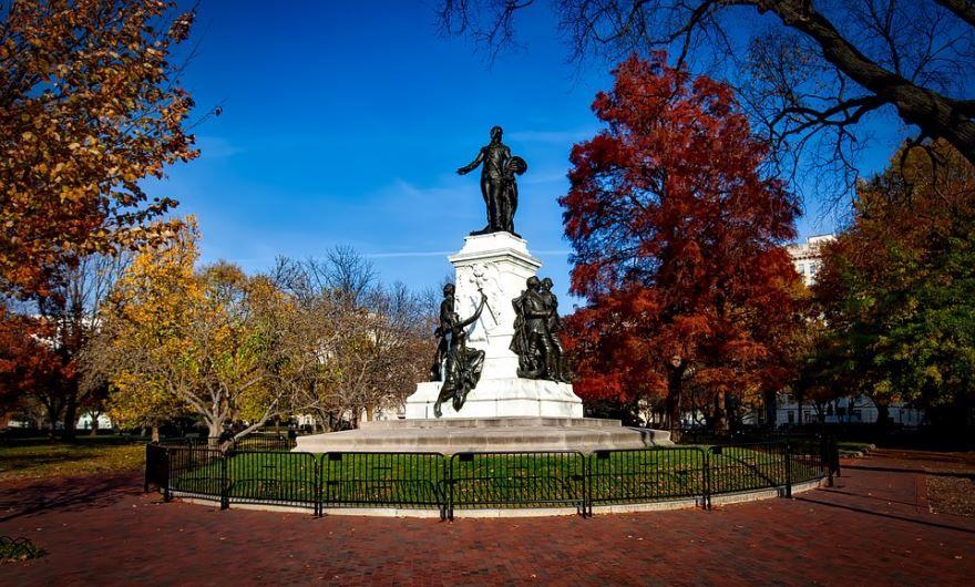 Парк Лафайет город Вашингтон