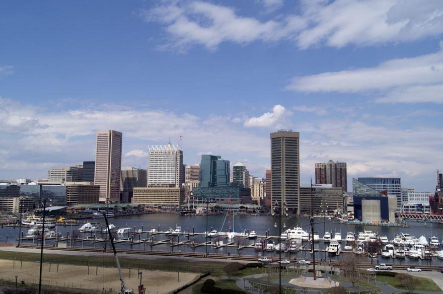 Скачать онлайн бесплатно лучшее фото города Балтимор в хорошем качестве