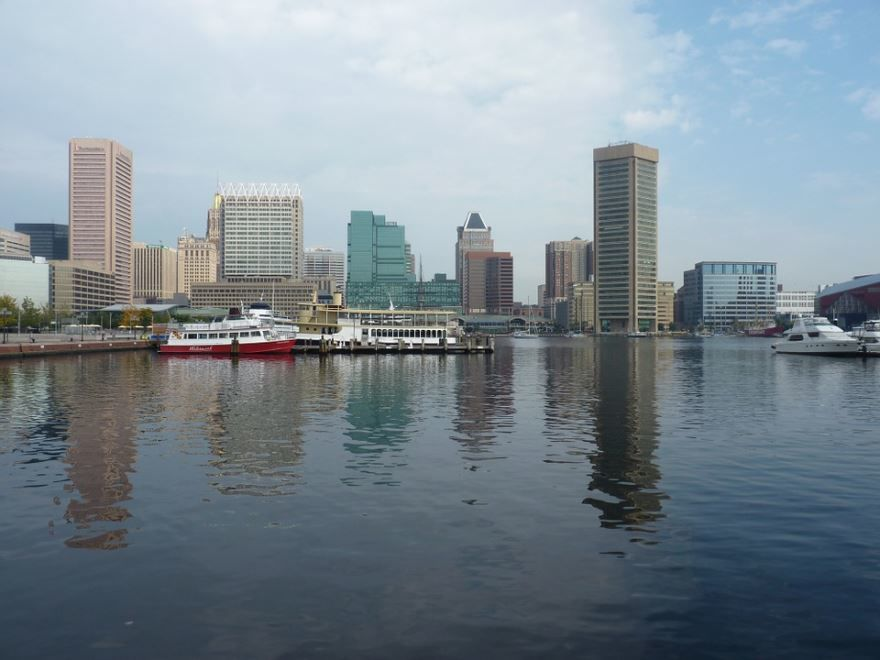 Скачать онлайн бесплатно лучшее фото города Балтимор 2019 в хорошем качестве