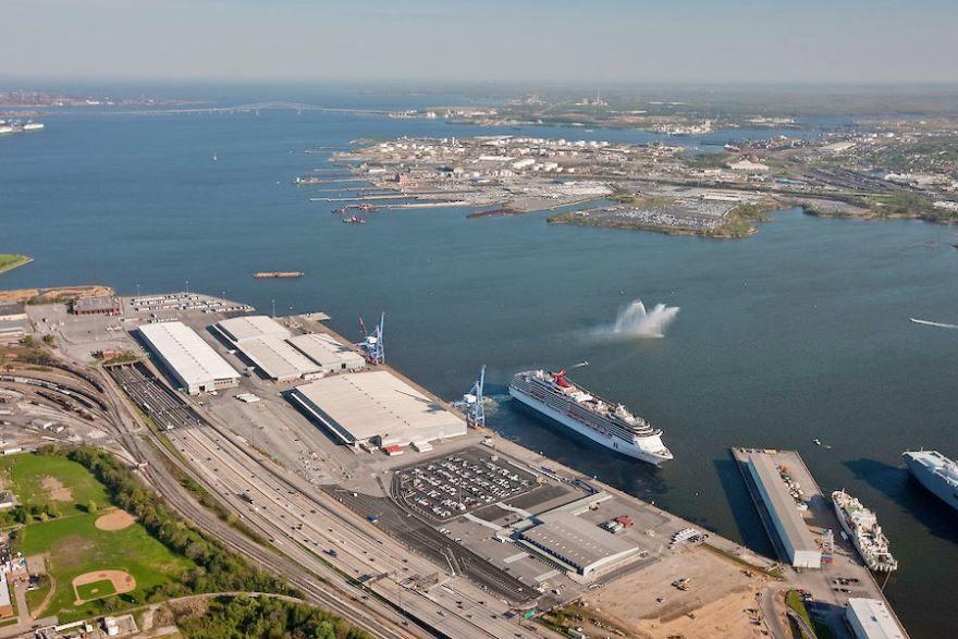 Круизный порт город Балтимор