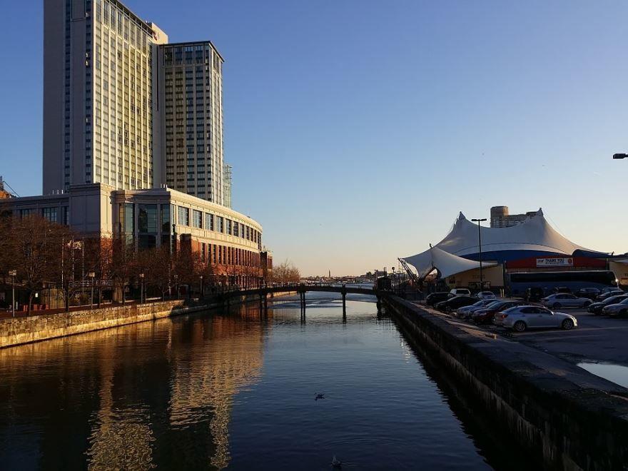 Внутренняя гавань город Балтимор
