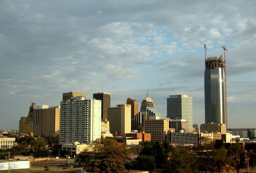 Смотреть красивое фото города Оклахома Сити штат Оклахома США