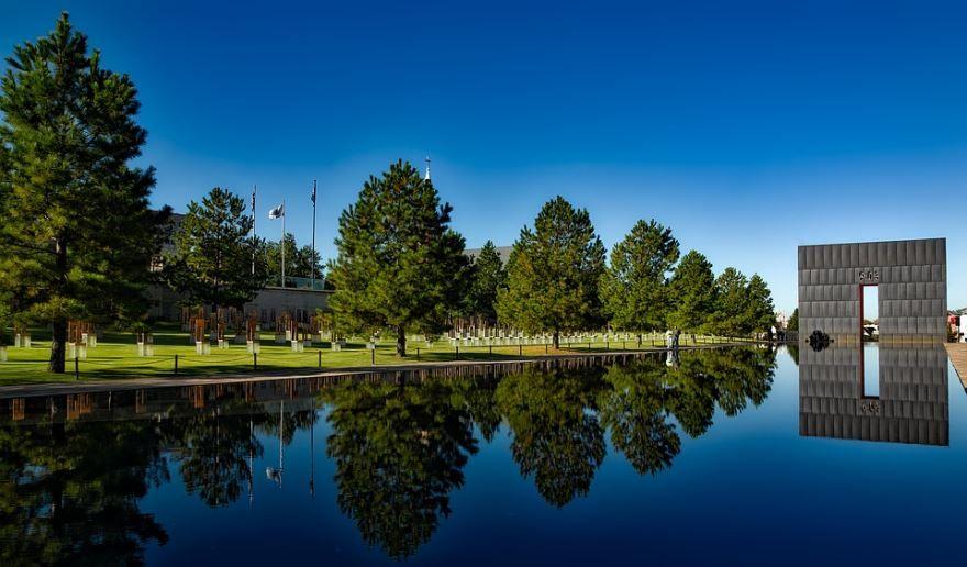 Мемориал города Оклахома Сити штат Оклахома США