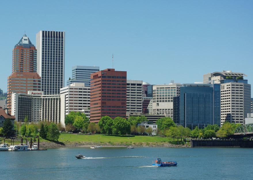 Смотреть красивое фото города Портленд штат Орегон США