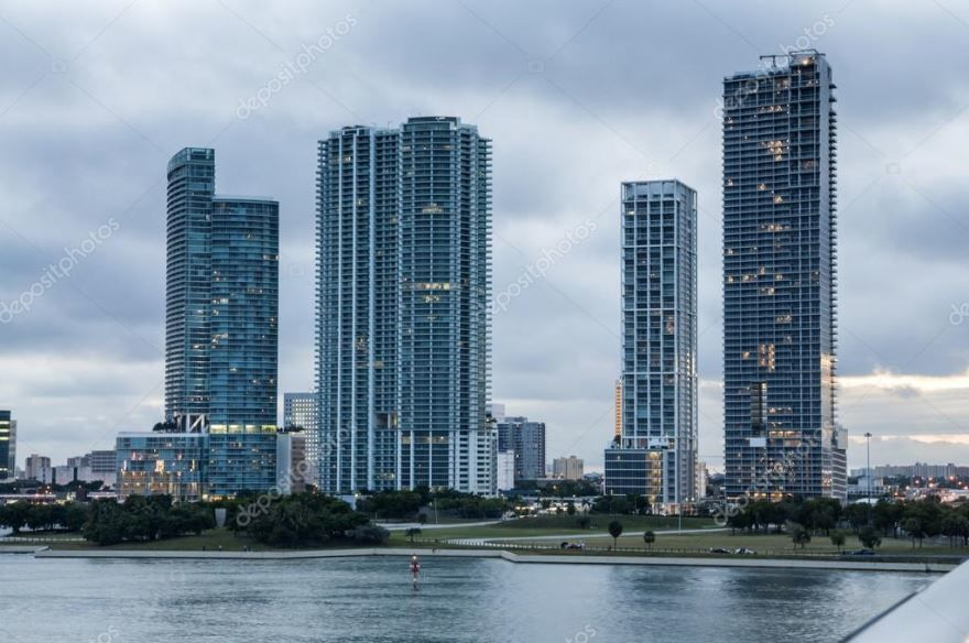 Смотреть красивое фото города Майами штат Флорида США