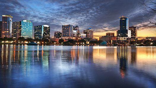 Смотреть красивое фото города Орландо штат Флорида США