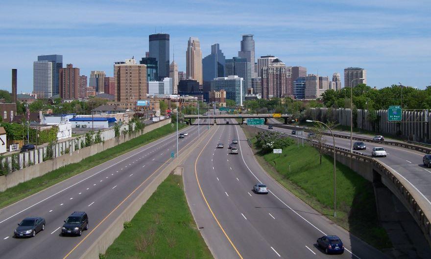 Скачать онлайн бесплатно лучшее фото города Миннеаполис в хорошем качестве