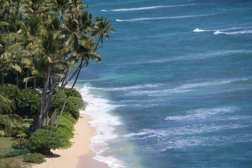 Смотреть красивое фото города Гонолулу Гавайи США