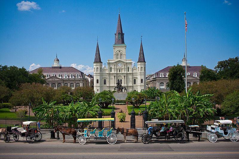 Собор Святого Луи город Новый Орлеан