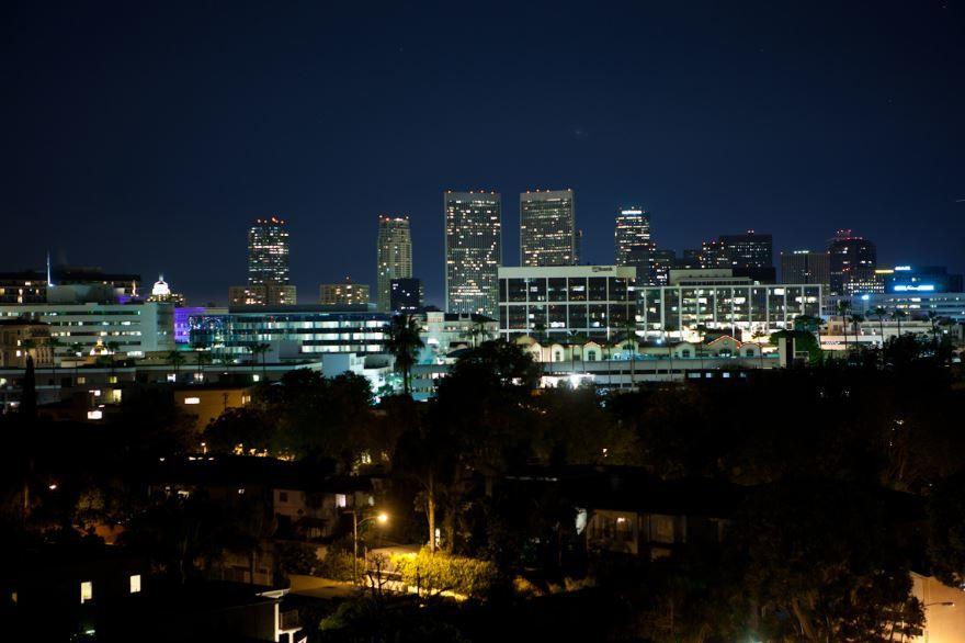 Смотреть красивое фото города Беверли Хиллз