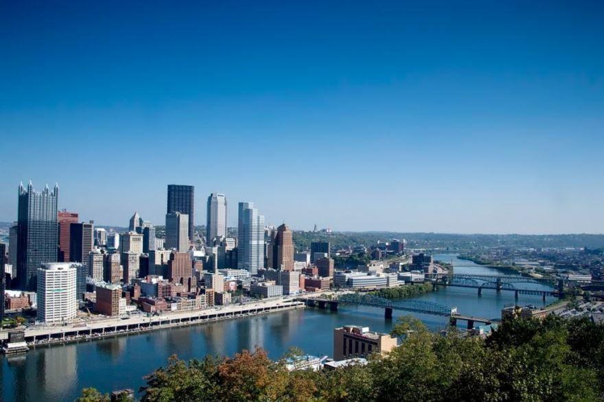 Скачать онлайн бесплатно лучшее фото города Питтсбург в хорошем качестве